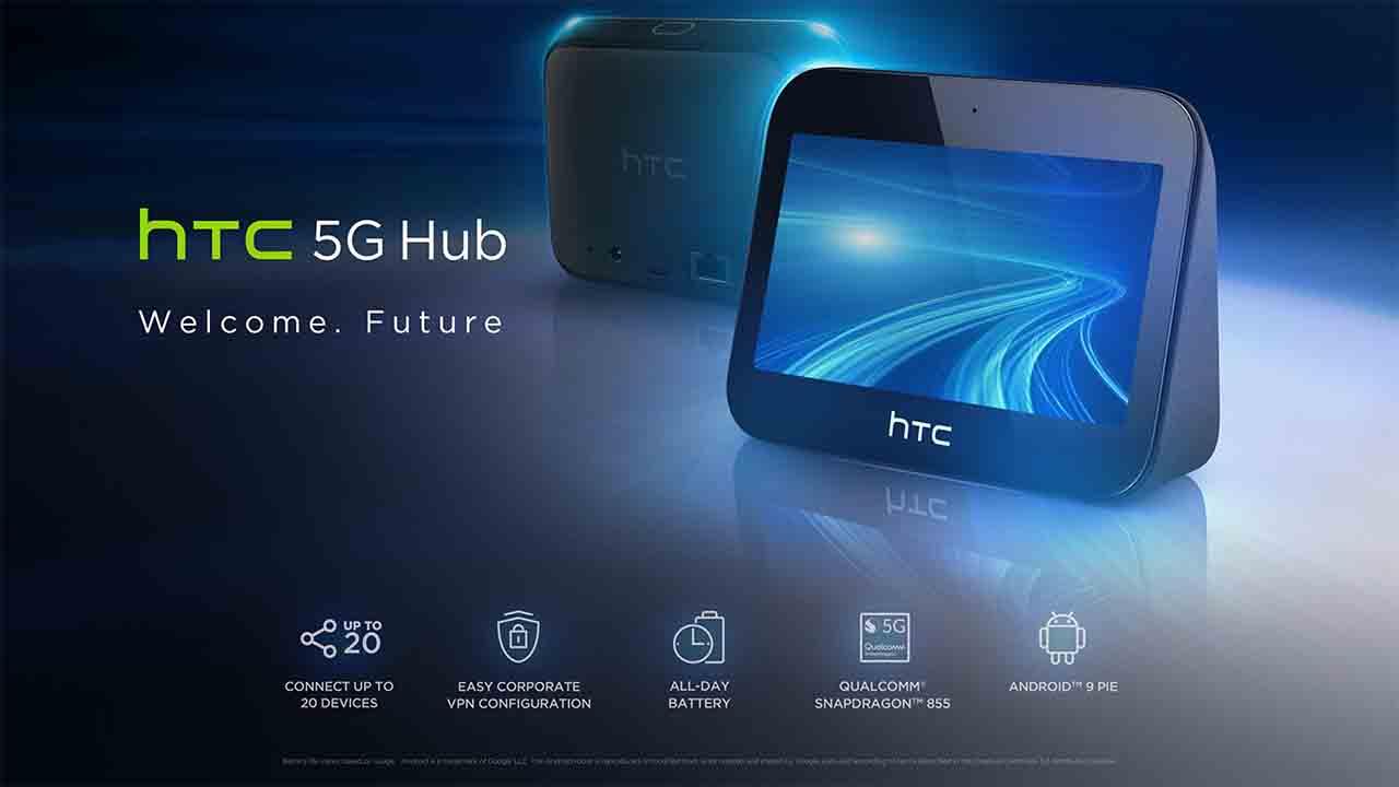 Llega hTc 5G Hub: Controla las rápidas velocidades del futuro