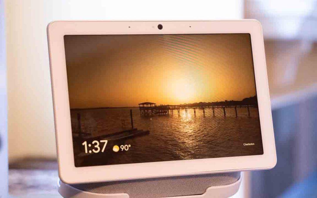 Lenovo: Las pantallas inteligentes obtienen un reloj interactivo 'Google Weather Frog'