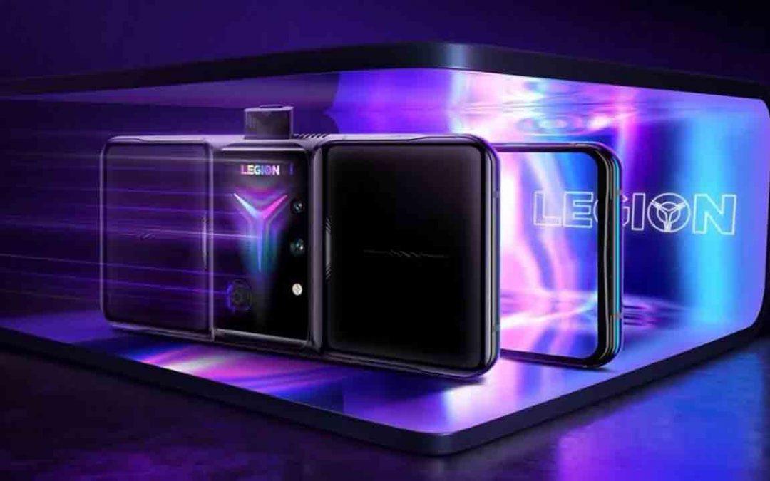 Nueva potencia de juegos móviles con el Lenovo Legion Phone Duel 2