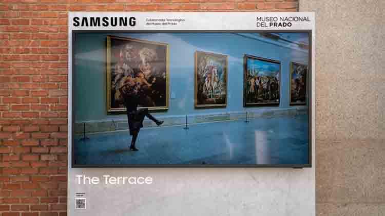 The Terrace de Samsung dará la bienvenida en el Museo del Prado